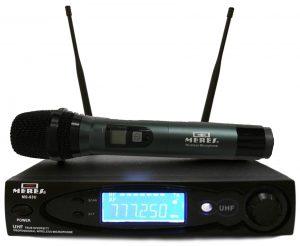 מיקרופון אלחוטי ידני דיגיטלי Meres MS63U UHF