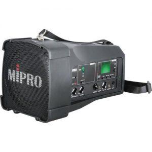 בידורית מיפרו אלחוטית ניידת עם מיקרופון מדונה אלחוטי Mipro MA100 USM