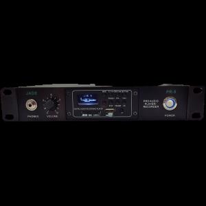 נגן מקליט USB/SD/BT במארז 1/2 RACK  JADE PR5 60W 100V USB/SD/BT