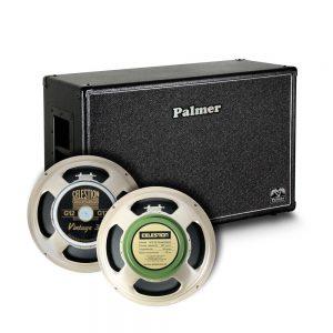 ארגז רמקולים 12*2 סליישן לגיטרה  Palmer CAB212V30GBK