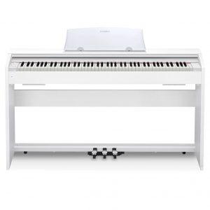 פסנתר חשמלי Casio PX-770 בצבע לבן