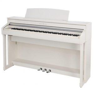 פסנתר חשמלי Kawai CA78 לבן
