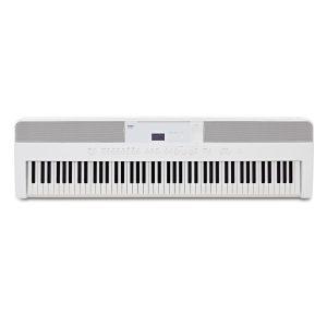 פסנתר חשמלי Kawai ES520 בצבע לבן