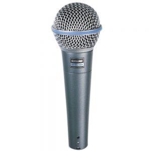 מיקרופון דינמי מקצועי לשירה Shure BETA-58A