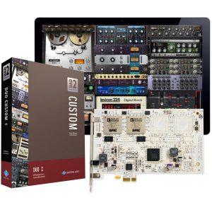 כרטיס מעבד אפקטים Universal Audio UAD-2 Duo Custom