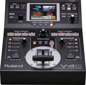 וידאו מיקסר דיגיטלי Roland AV Mixer V4EX