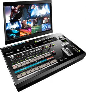 וידאו מיקסר דיגיטלי Roland AV Mixer V800HD